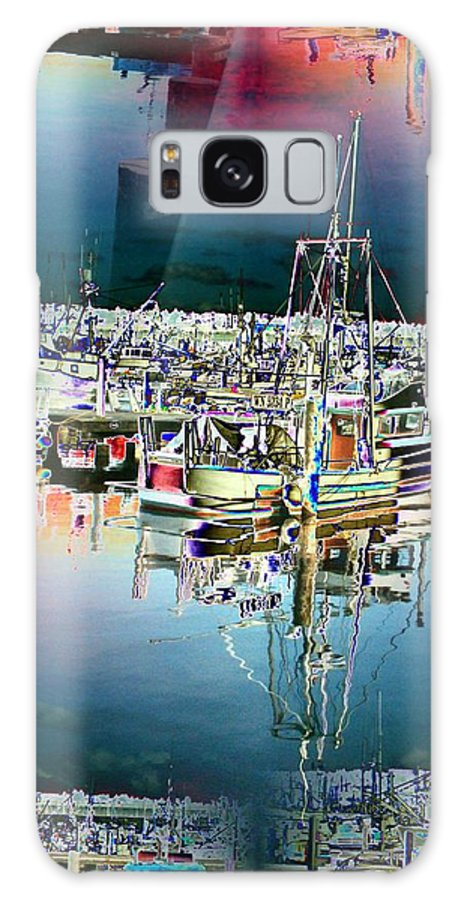 Seattle Galaxy S8 Case featuring the photograph Fishermans Terminal 3 by Tim Allen