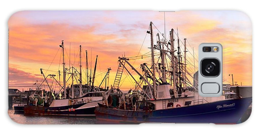 Point Pleasant Galaxy S8 Case featuring the photograph Fishing Fleet by Bob Cuthbert