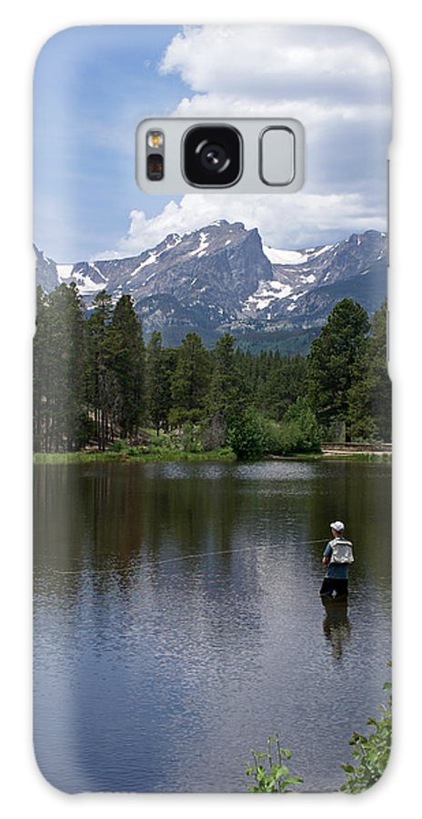 Fishing Galaxy S8 Case featuring the photograph Fishing In Colorado by Heather Coen