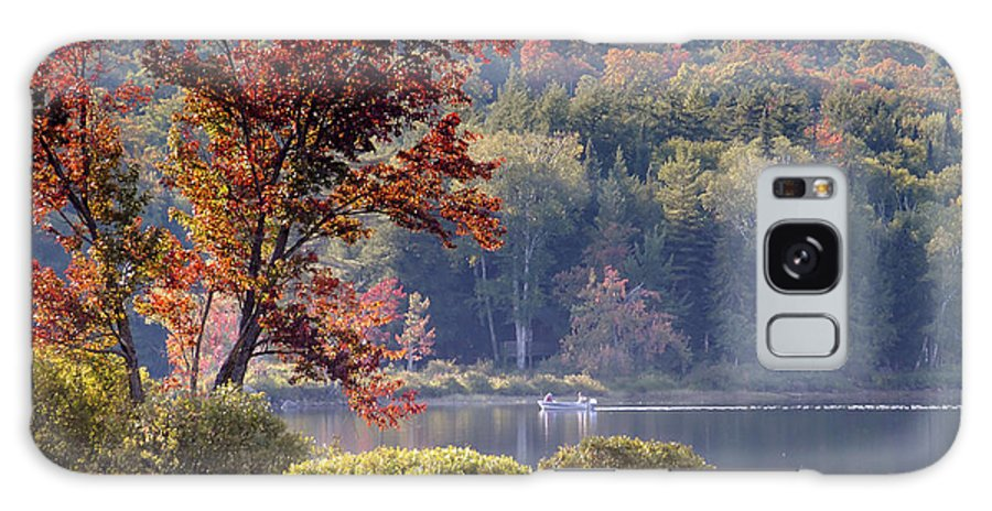Adirondack Mountains Galaxy S8 Case featuring the photograph Fishing The Adirondacks by David Lee Thompson