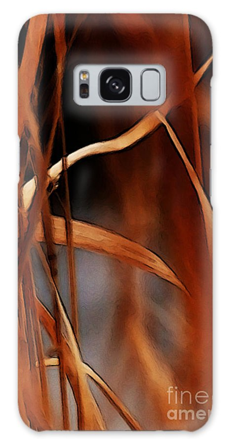Flame Galaxy S8 Case featuring the photograph Flame by Linda Shafer