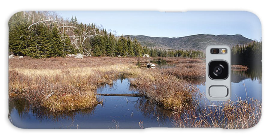 Pond Galaxy S8 Case featuring the photograph Flat Mountain Ponds - Sandwich Wilderness White Mountains Nh by Erin Paul Donovan