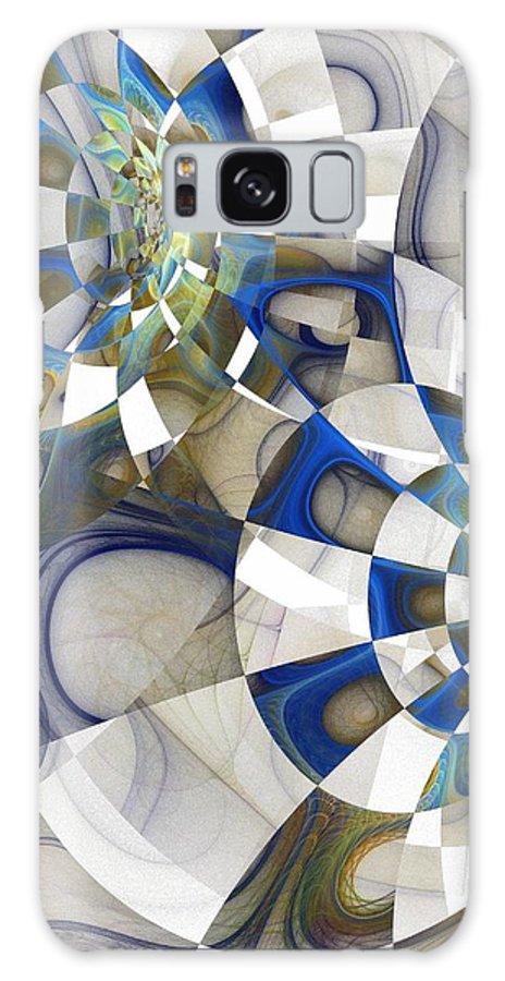 Digital Art Galaxy Case featuring the digital art Flight by Amanda Moore