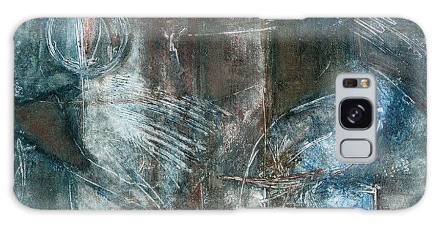 Flight Galaxy S8 Case featuring the drawing Flight Passage by Kerryn Madsen- Pietsch