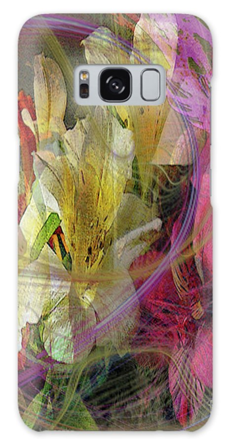 Floral Inspiration Galaxy S8 Case featuring the digital art Floral Inspiration by John Beck