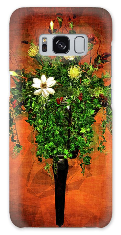 Floral Galaxy S8 Case featuring the photograph Floral Wall Arrangement by Joan Minchak