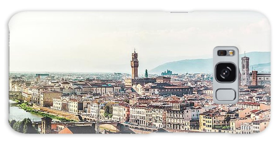 Buildings Galaxy S8 Case featuring the photograph Florence Italy by Artpics