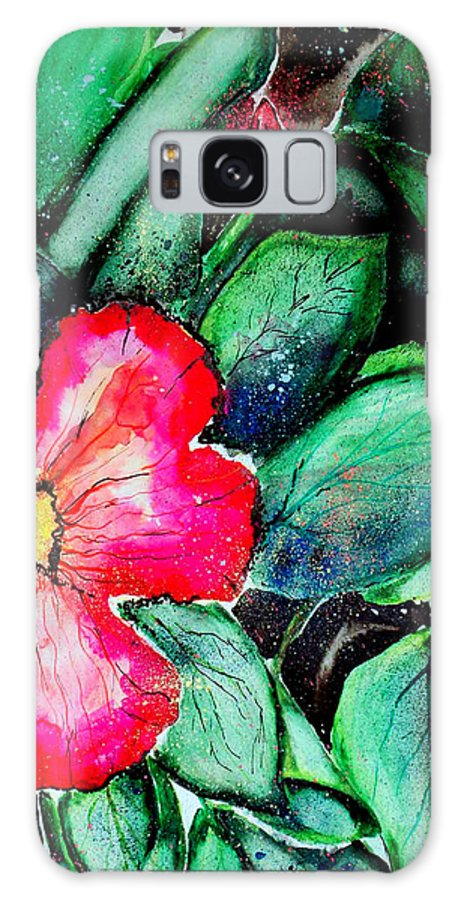 Exotic Galaxy S8 Case featuring the photograph Florida Flower by Margaret Fortunato