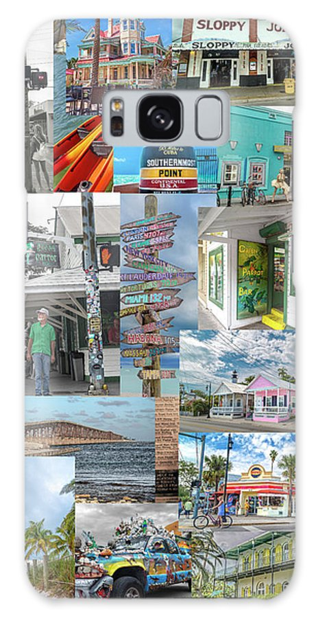 Florida Galaxy Case featuring the photograph Florida Key West Collection by Betsy Knapp