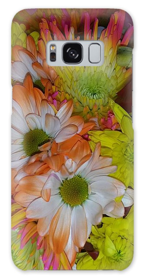 Flowers Galaxy S8 Case featuring the photograph Flower Bouquet by Maxine Billings