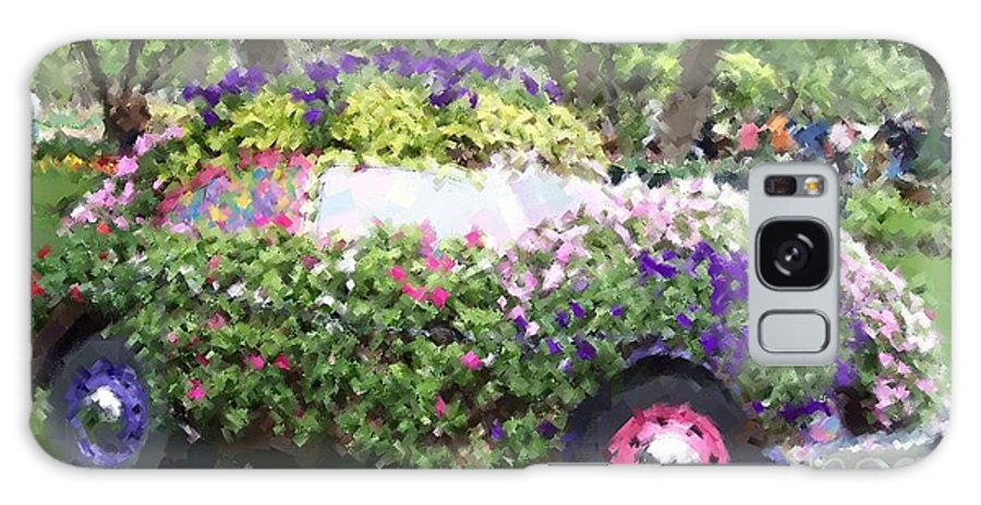 Cars Galaxy S8 Case featuring the photograph Flower Power by Debbi Granruth