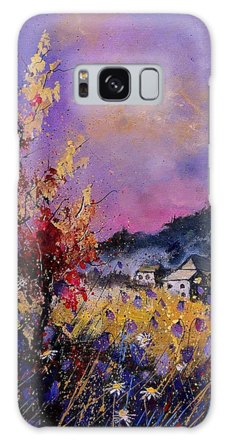 Galaxy S8 Case featuring the painting Flowered Landscape 569070 by Pol Ledent