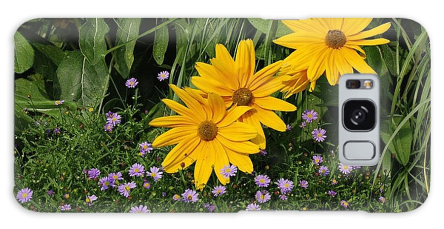 Floral Galaxy Case featuring the photograph Flowers by Denis Hoel