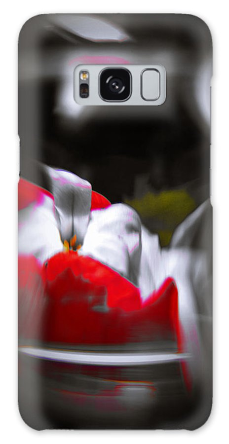 Abstract Galaxy S8 Case featuring the photograph Flowers In Abstract by Scott Wyatt