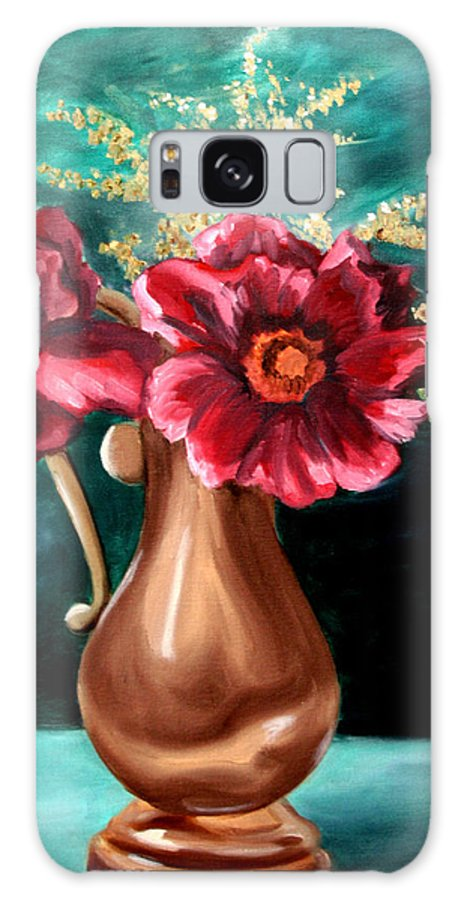 Flower Galaxy S8 Case featuring the painting Flowers by Maryn Crawford