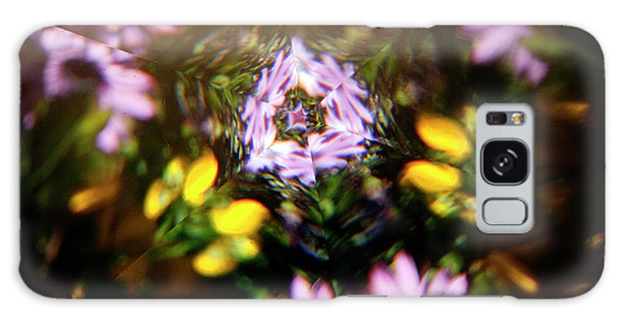 Flowers Galaxy S8 Case featuring the photograph Flowers Thru Kaleidiscope by Marilyn Hunt