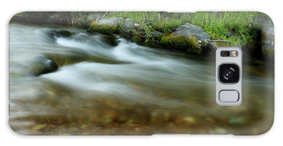 River Galaxy Case featuring the photograph Flowing by Idaho Scenic Images Linda Lantzy
