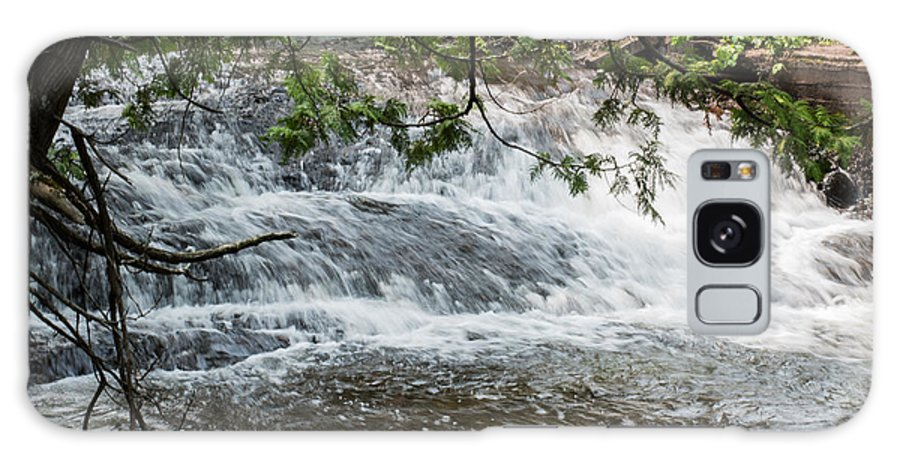 Flowing Galaxy S8 Case featuring the photograph Flowing Water by Wesley Farnsworth