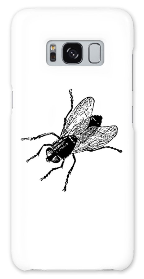 Galaxy S8 Case featuring the painting Fly Tee by Steve Fields