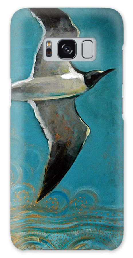 Acrylic Galaxy S8 Case featuring the painting Flying Free by Suzanne McKee
