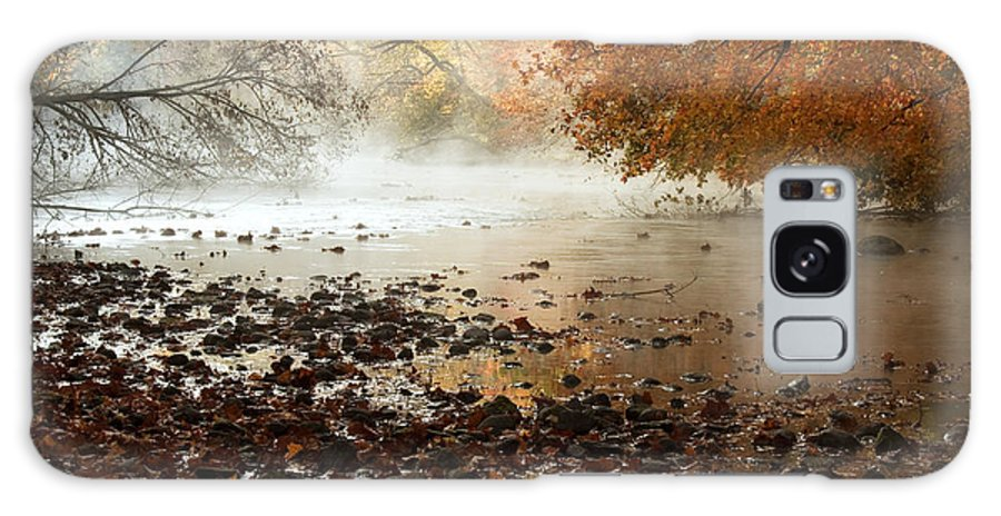 River Galaxy Case featuring the photograph Fog And Color by Amanda Kiplinger