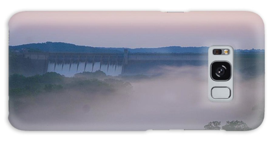 Fog Galaxy Case featuring the photograph Fog at Dusk by Toni Berry