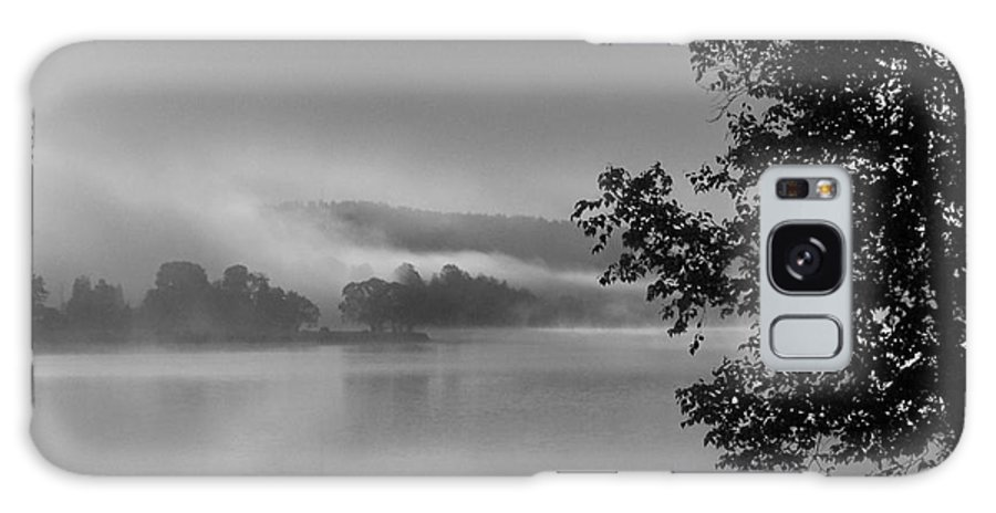 Lake Galaxy S8 Case featuring the photograph Fog On Gowganda Lake by Marjorie Imbeau