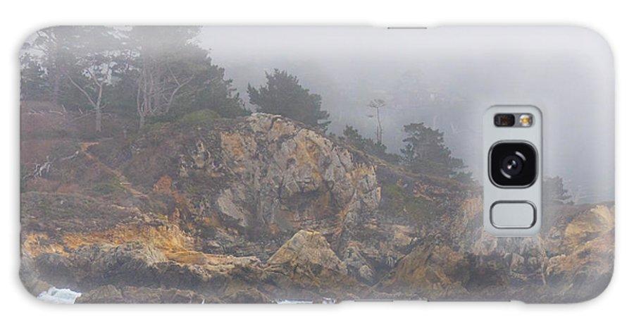 Fog Galaxy S8 Case featuring the photograph Foggy Day At Point Lobos by Derek Dean