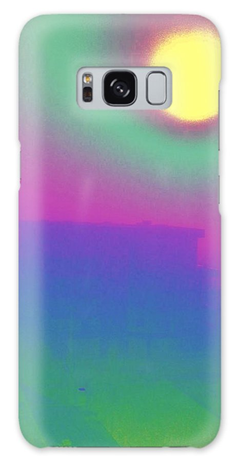 Abstract Galaxy S8 Case featuring the digital art Foggy Day by Tim Allen