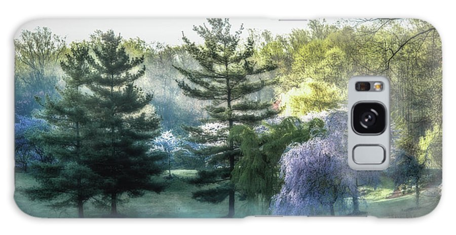 Fog Galaxy Case featuring the photograph Foggy Morning On Lake Caroline by Tom Stovall Sr