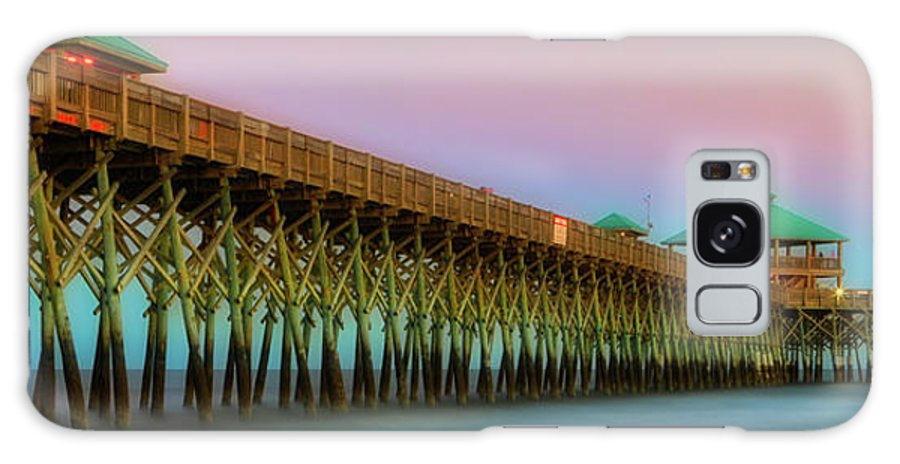 Architecture Galaxy S8 Case featuring the photograph Folly Pier 1 by Jerry Fornarotto