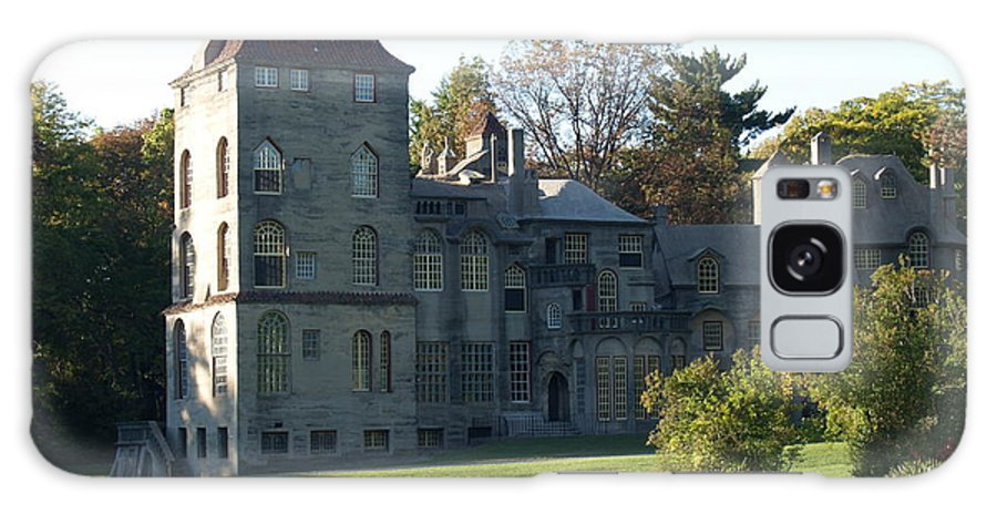 Fonthill Galaxy S8 Case featuring the photograph Fonthill Castle In Doylestown Pa by Anna Lisa Yoder