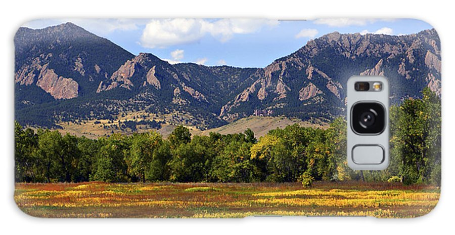 Fall Galaxy Case featuring the photograph Foothills Of Colorado by Marilyn Hunt