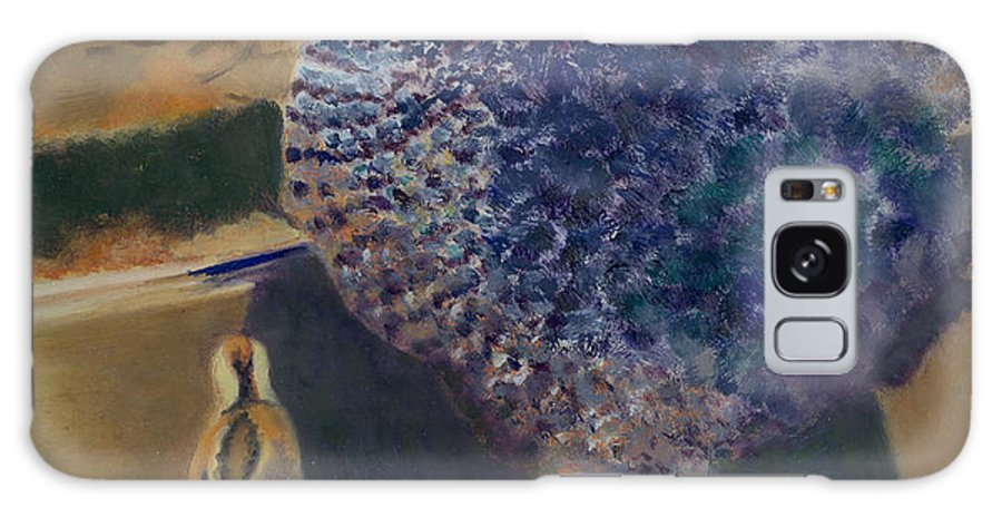 Animal Galaxy Case featuring the painting For The Birds by Paula Emery