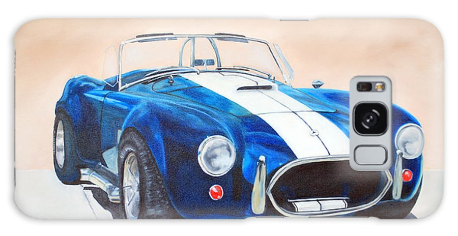 Car Galaxy S8 Case featuring the painting Ford Cobra In Oil by Margaret Fortunato