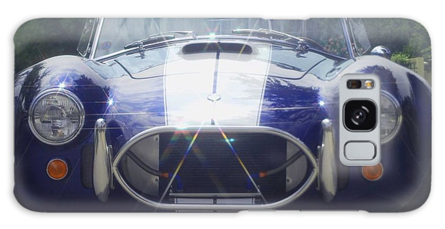 Speed Galaxy S8 Case featuring the photograph Ford Cobra by Margaret Fortunato