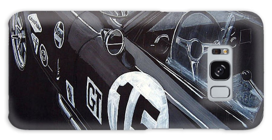 Ford Cobra Racing Coupe Galaxy S8 Case featuring the painting Ford Cobra Racing Coupe by Richard Le Page