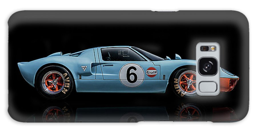 Ford Galaxy S8 Case featuring the digital art Ford Gt 40 by Douglas Pittman
