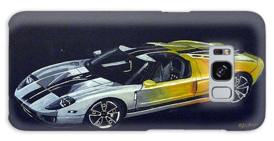 Ford Galaxy S8 Case featuring the painting Ford Gt Concept by Richard Le Page