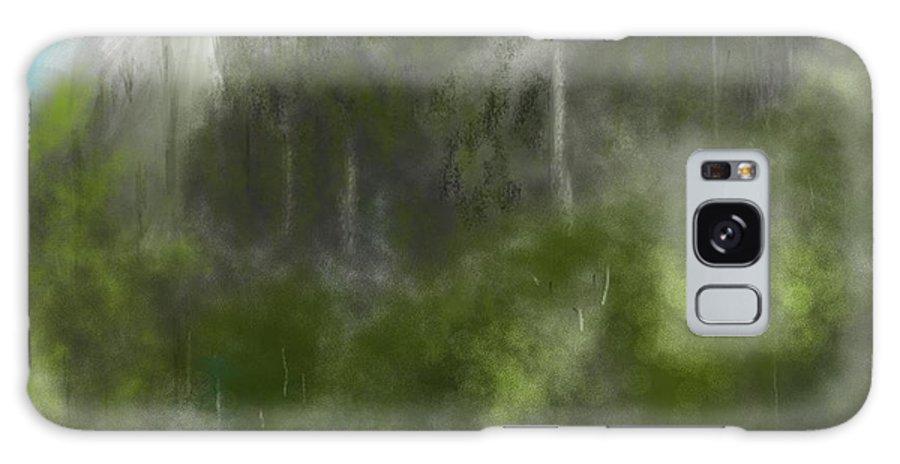 Digital Art Galaxy S8 Case featuring the digital art Forest Landscape 10-31-09 by David Lane