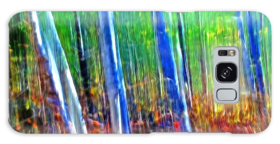 Forest Galaxy Case featuring the photograph Forest Magic by Bill Morgenstern