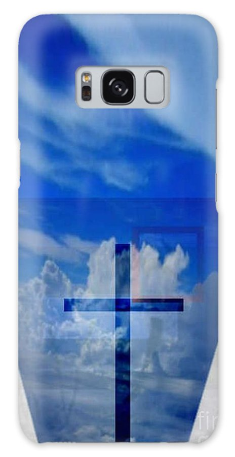 Inspirational Galaxy Case featuring the digital art Forever Settled by Brenda L Spencer