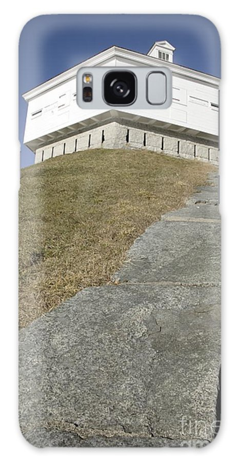 Atlantic Ocean Galaxy Case featuring the photograph Fort Mcclary - Kittery Maine Usa by Erin Paul Donovan