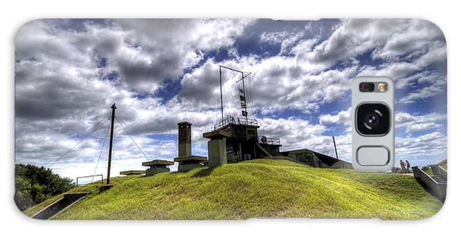 Fort Galaxy S8 Case featuring the photograph Fort Moultrie Bunker by Dustin K Ryan