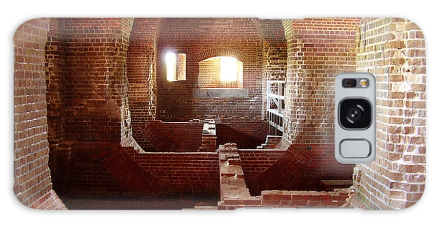 Fort Pulaski Galaxy Case featuring the photograph Fort Pulaski I by Flavia Westerwelle