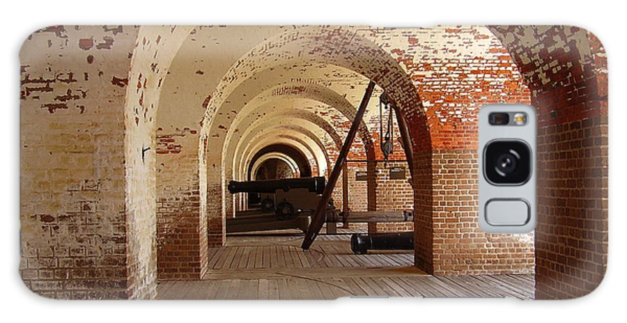 Fort Pulaski Galaxy S8 Case featuring the photograph Fort Pulaski II by Flavia Westerwelle