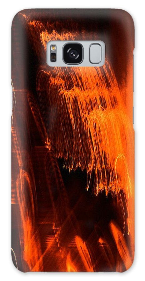 Contemporary Galaxy Case featuring the photograph Fountain Of Music by Florene Welebny
