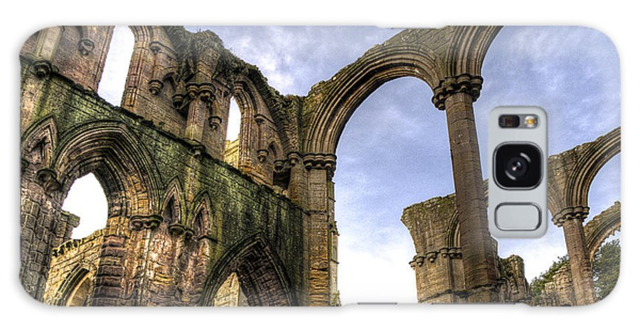 Castle Galaxy S8 Case featuring the photograph Fountains Abbey 5 by Svetlana Sewell