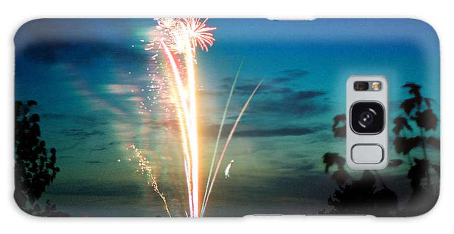 Landscape Galaxy Case featuring the photograph Fourth Of July by Steve Karol