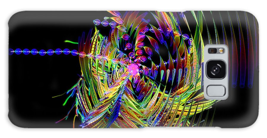 Fractal Galaxy S8 Case featuring the digital art Fractal Folly by Jeffrey Kolker